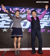 眭澔平、Makiyo主持的網路都市傳說節目「怪奇學園」,將揭曉世界神奇百怪的事件現象。(記者邱榮吉/攝影)