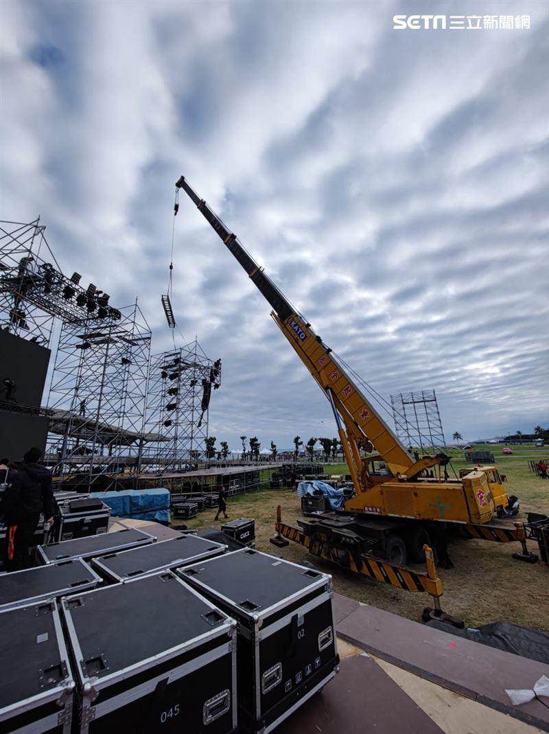 阿妹跨年1/超巨環狀舞台正面曝光!4百公尺之外都看得到