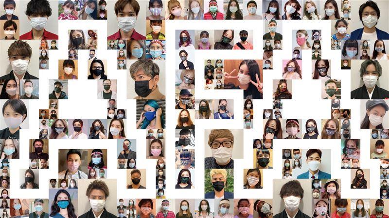 亞洲時尚大賞群星戴上口罩!