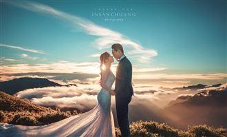 多圖/他拍出上帝視角絕美婚紗照