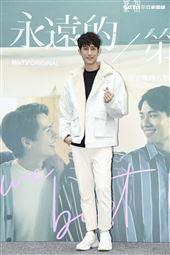 《永遠的第一名》首映記者會范姜彥豐出席。(圖/記者楊澍攝影)