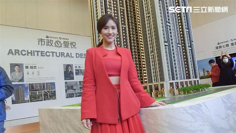 金鐘女神火熱洋裝 降臨七期百億建案