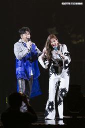光良《今晚我不孤獨》演唱會台北限定版,Ella擔任特別嘉賓。(圖/記者楊澍攝影)