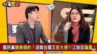 藍很怕激怒中國?他:卻不怕美國生氣