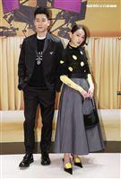 周興哲、林映唯出席Prada 2021春夏男女裝列媒體發表會。(記者邱榮吉/攝影)