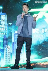 MTV「大嘻哈時代」主持人J.Sheon。(記者邱榮吉/攝影)
