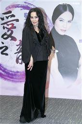 潘越雲出席《歌之饗宴Ⅲ-愛之韻》演唱會記者會。(圖/記者楊澍攝影)