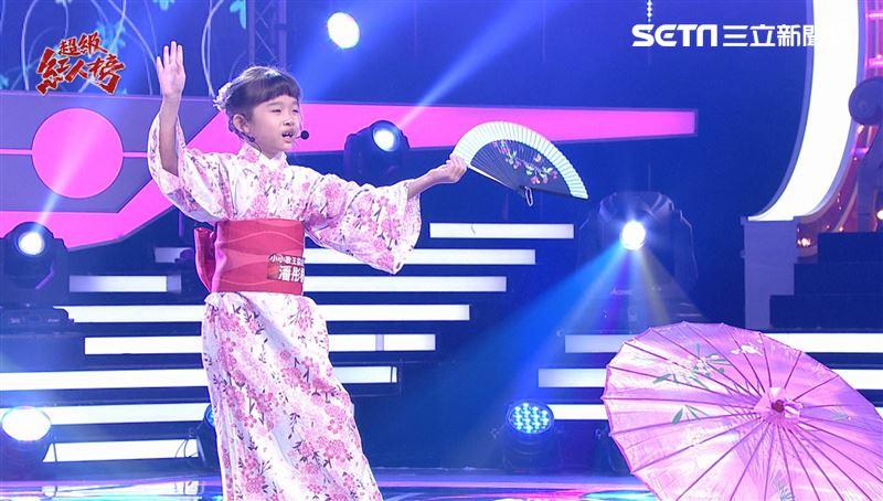 日本姑娘光臨紅人榜 桐妹專業扇子舞