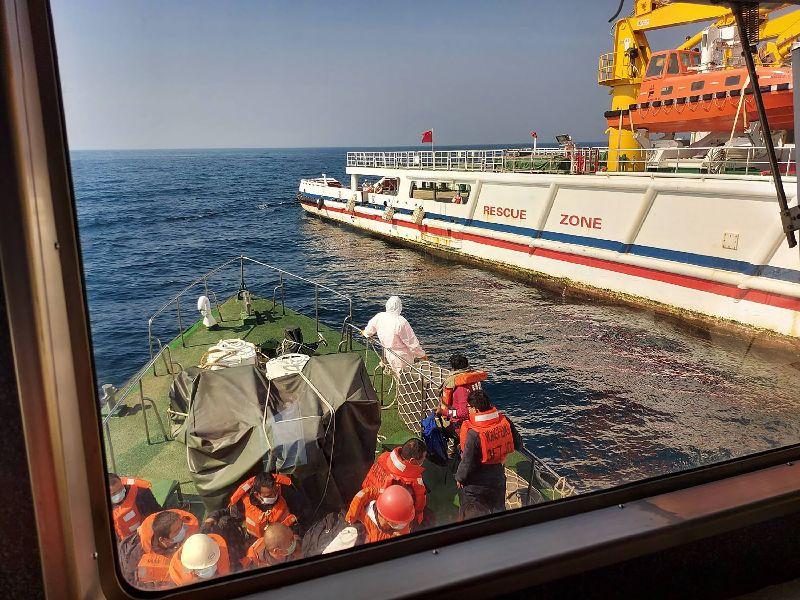 救爆炸貨輪被唸超載!船長氣「以後不救」 漁業署回應了