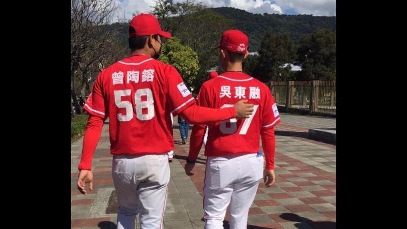 和吳東融一起對決兄弟成本季焦點 曾陶鎔:學弟們也很努力