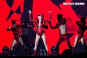 謝金燕2021TURN口罩世界巡迴演唱會。(圖/記者楊澍攝影)