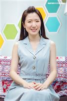 正妹營養師劉家芸三立新聞網專訪。(圖/記者楊澍攝影)