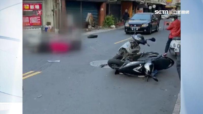 醉男酒駕一路衝撞 6車遭撞3人受傷