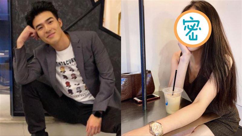 陳昊森2年前早認愛 模特兒女友曝光