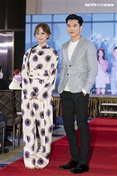 陳意涵、邱澤出席她們創業的那些鳥事首映記者會。(圖/記者楊澍攝影)