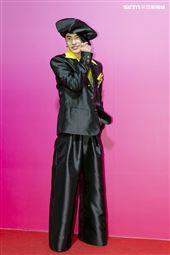 曾敬驊出席ANGUS CHIANG AW21巴黎時裝週最新系列大秀暨ME電影首映會。(圖/記者楊澍攝影)
