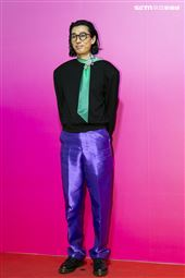 馬念先出席ANGUS CHIANG AW21巴黎時裝週最新系列大秀暨ME電影首映會。(圖/記者楊澍攝影)