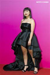 蔡宜真出席ANGUS CHIANG AW21巴黎時裝週最新系列大秀暨ME電影首映會。(圖/記者楊澍攝影)