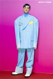 劉修甫出席ANGUS CHIANG AW21巴黎時裝週最新系列大秀暨ME電影首映會。(圖/記者楊澍攝影)