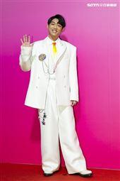 謝章穎出席ANGUS CHIANG AW21巴黎時裝週最新系列大秀暨ME電影首映會。(圖/記者楊澍攝影)