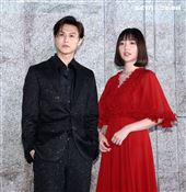 邱勝翊(王子)、郭雪芙出席電影「山中森林」卡司發布會。(記者邱榮吉/攝影)