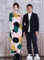 李康生、李千那出席電影「山中森林」卡司發布會。(記者邱榮吉/攝影)