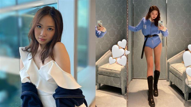 甄子丹17歲女兒 鉛筆腿神基因讚爆