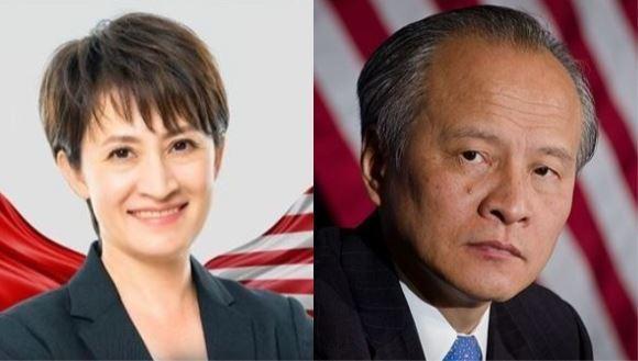 風雲人物蕭美琴入列!她曝為何中國駐美大使沒入選關鍵