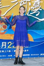 江宏傑、黃湘婷出席公視《我家住海邊》上檔記者會。(圖/記者楊澍攝影)