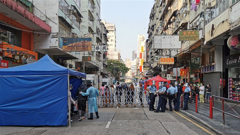 爆發疫情週年!香港今增81例確診 累計染疫數破萬人