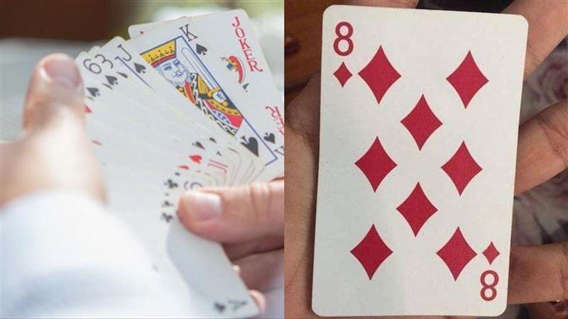 看見了嗎?撲克牌方塊8竟藏驚人玄機