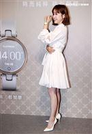 李佳穎出席手錶活動幫閨密安心亞找情人,並抖出受孕計畫。(記者邱榮吉/攝影)