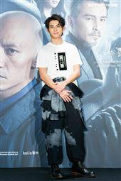 林暉閔出席緝魂首映會。(圖/記者楊澍攝影)