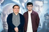 導演程偉豪、監製唐在揚出席緝魂首映會。(圖/記者楊澍攝影)