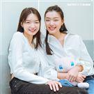新生代超模潘星妤、潘昱璇三立新聞網專訪。(圖/記者楊澍攝影)