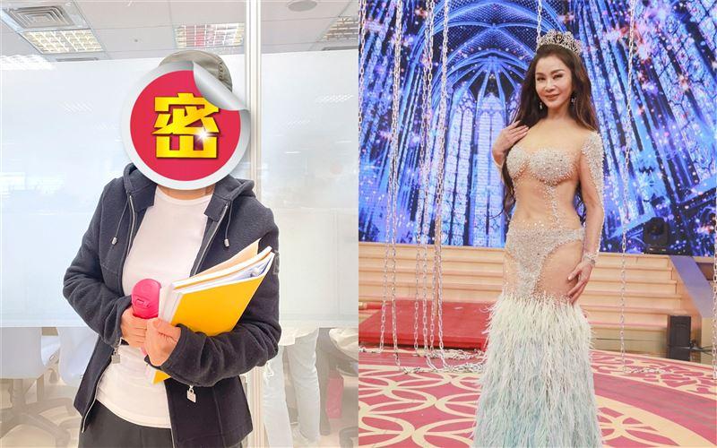 陳美鳳戴眼鏡水壺 重返學生網驚凍齡