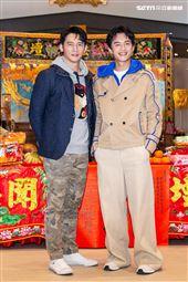 溫昇豪、陳澤耀出席《衝吧!周大隆》開鏡記者會。(圖/記者楊澍攝影)