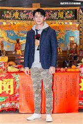 溫昇豪出席《衝吧!周大隆》開鏡記者會。(圖/記者楊澍攝影)