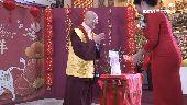 蓮生活佛為台灣祈福 傳授新春開運法