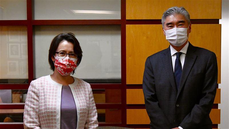 蕭美琴會晤亞太助卿 美國務院:致力深化與台灣關係   政治   三立新聞