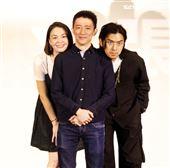 「鬼才之道」導演徐漢強、陳柏霖、張榕容出席新片發布會。(記者邱榮吉/攝影)