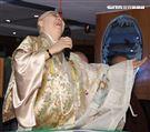 恆述法師和解張菲過年團圓,與費玉清一吻泯恩仇曝「後悔封麥」。(記者邱榮吉/攝影)