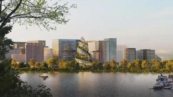 亞馬遜新總部「螺旋」 設計靈感與實際樣貌怎麼看怎麼怪