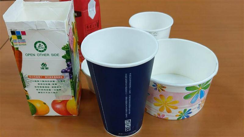 別亂丟!紙餐具回收率5年增41% 環署:處理量能有餘裕
