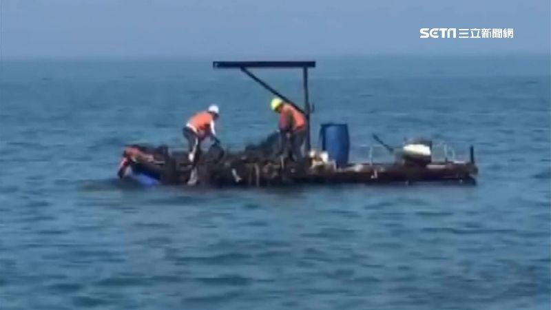 清港人員便宜行事 被目擊垃圾扔大海
