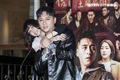 鄭人碩、謝欣穎出席《角頭-浪流連》慶功記者會。(圖/記者楊澍攝影)