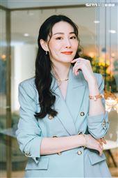 名媛侍懷鳳三立新聞網專訪。(圖/記者楊澍攝影)