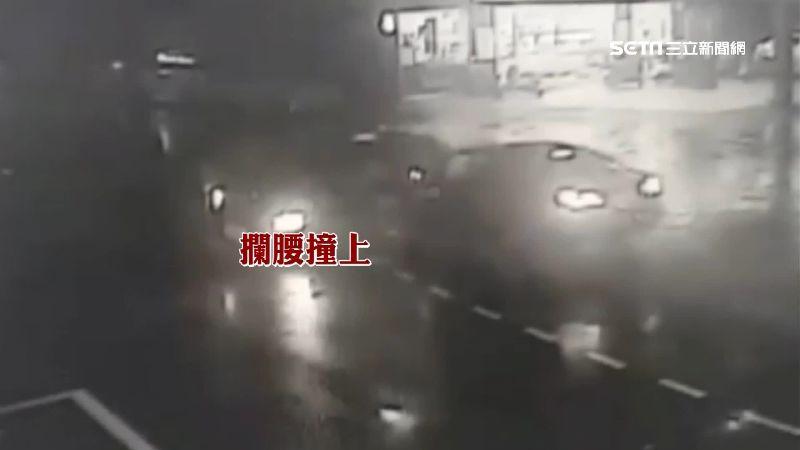男酒駕攔腰撞車 害民宅停電4人送醫
