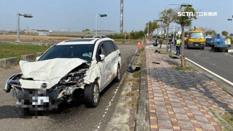 2車對撞釀1死 2駕駛同姓住同村莊