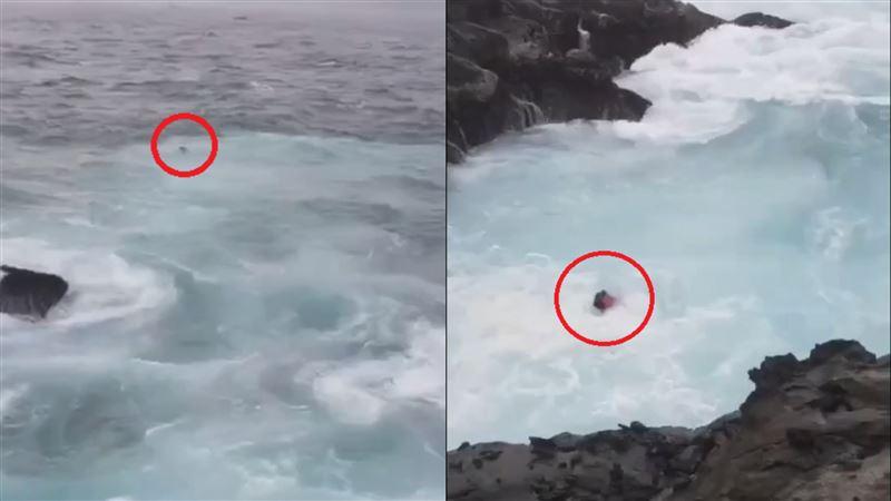基隆嶼2釣客落海 竟一殞命、一獲救